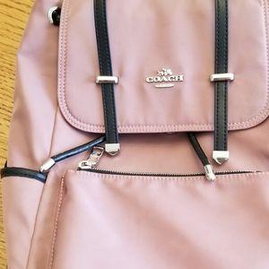 Rose pink backpack